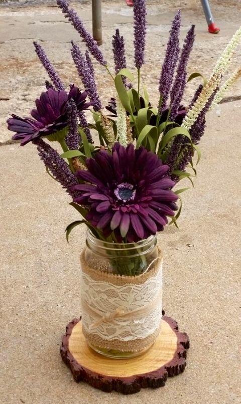 Best ideas about plum wedding centerpieces on pinterest