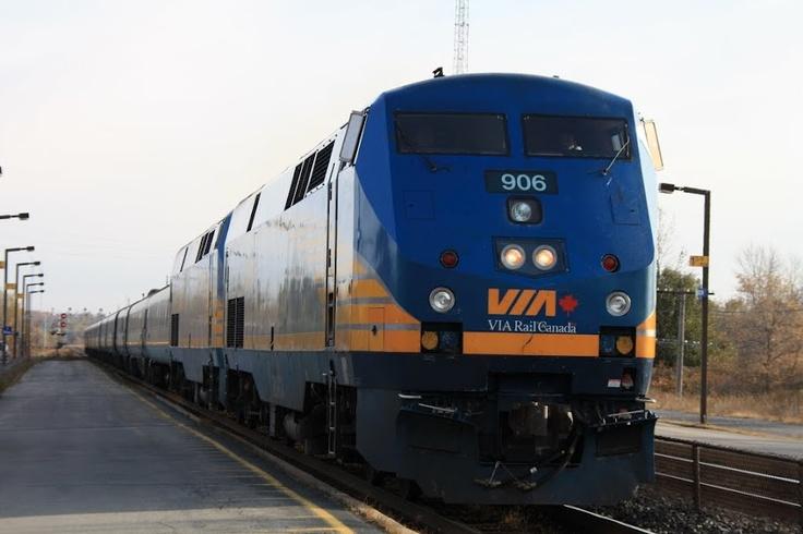A Via Rail Train