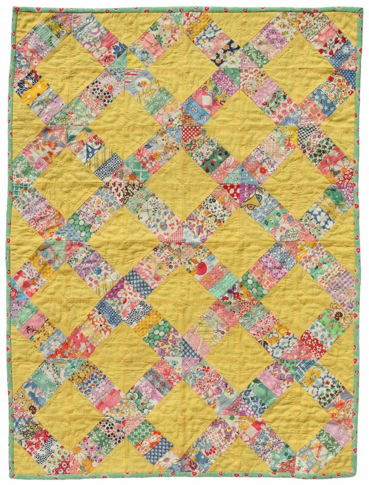 Vintage yellow quilt                                                                                                                                                                                 More