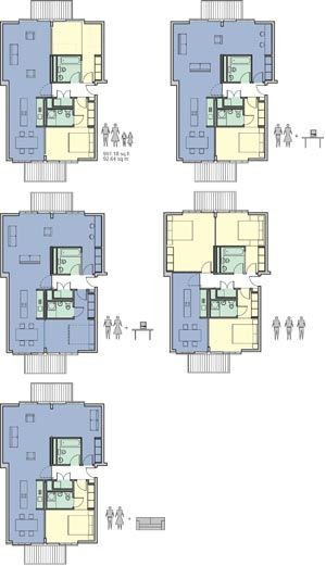 House on pinterest for Flexible house plans
