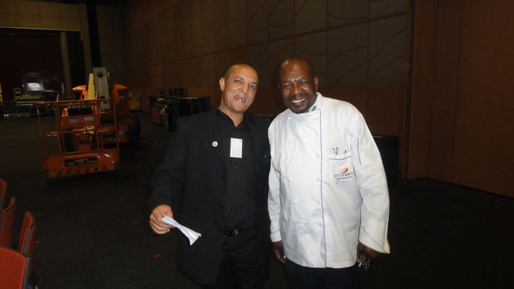 Meeting the Chef @ Womans Imbizo