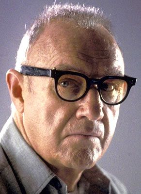 Gene Hackman in Enemy Of The People (movie) wearing FDR style eyeglasses. The New Deal http://www.eyeglassboy.com/Mens_Vintage_Eyeglasses_Frames_FDR_Large_BLACK.html