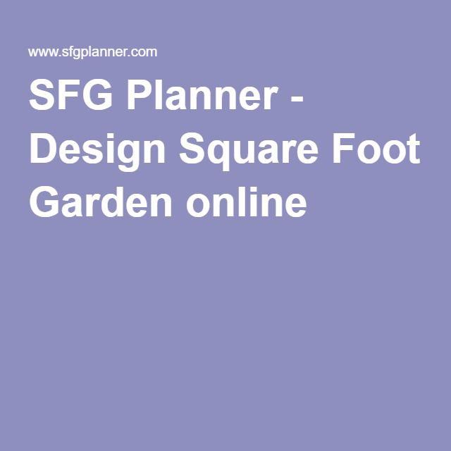 die besten 25+ square foot gardening planner ideen auf pinterest, Gartengestaltung