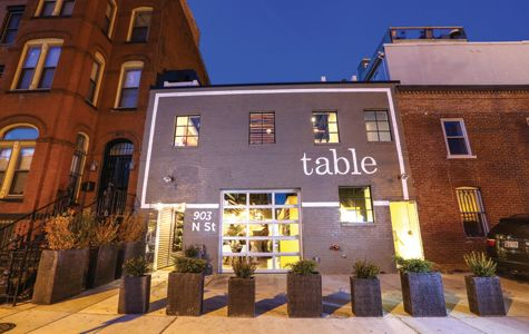 Table a new restaurant housed in a former auto repair shop in dc s logan circle dining - Table restaurant washington dc ...