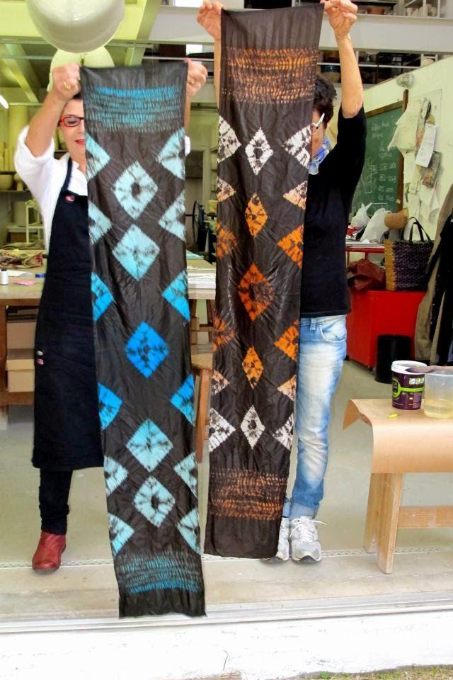 shibori + textiles :  Para desvendar de forma simples as muitas possibi...