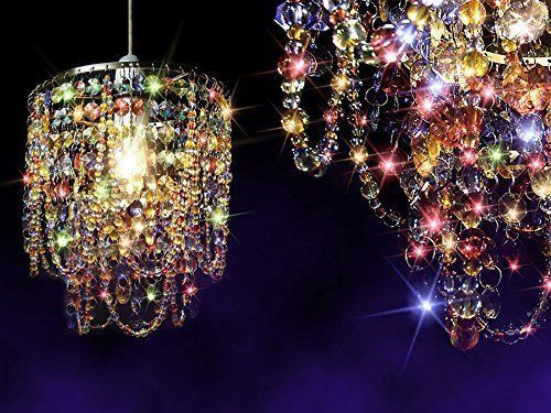 Siminda-Multicoloured-LED-Crystal-Ceiling-Light-Pearl-Pendant-Lamp-Gypsy-Shade