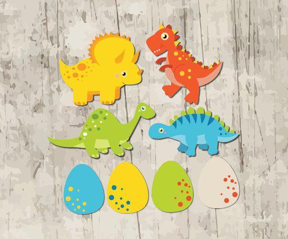 DINOSAUR Party Decorations. Dinosaur by RedAppleStudio on Etsy