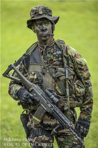 The Army Reconnaissance Detachment 10 is a special forces unit of the Swiss Army responsible for conducting counter-terrorist activities in Switzerland and abroad.