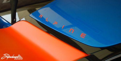 Renault ALPINE A110-50 detail