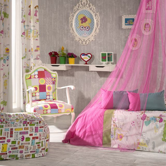 These two fresh, vibrant, new collections set a trend in children's bedrooms. #rioma