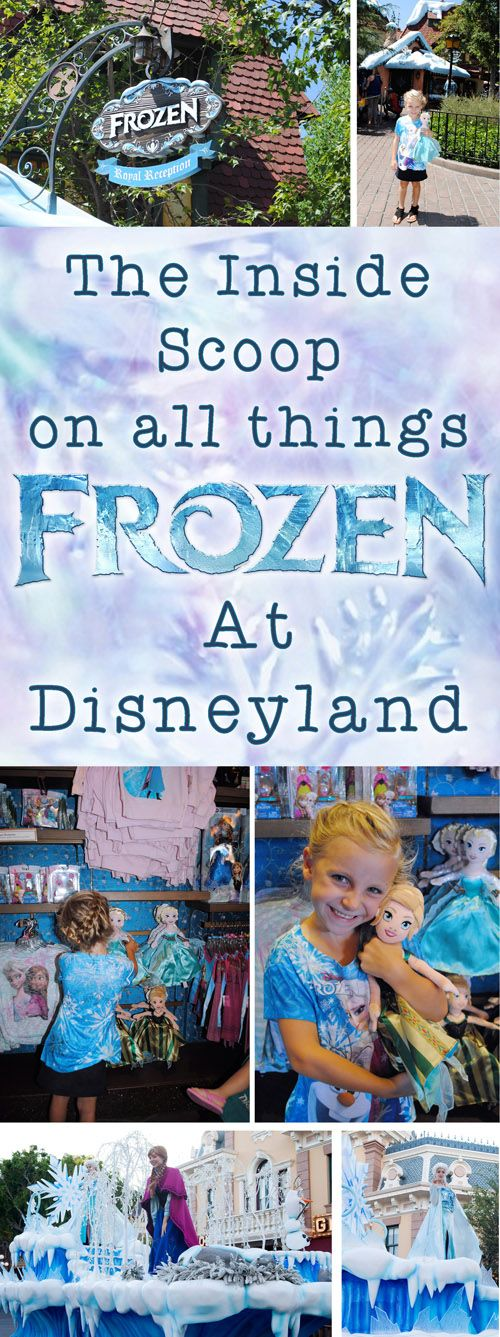The Inside Scoop on All Things Frozen at Disneyland | Get Away Today Vacations - Official Site