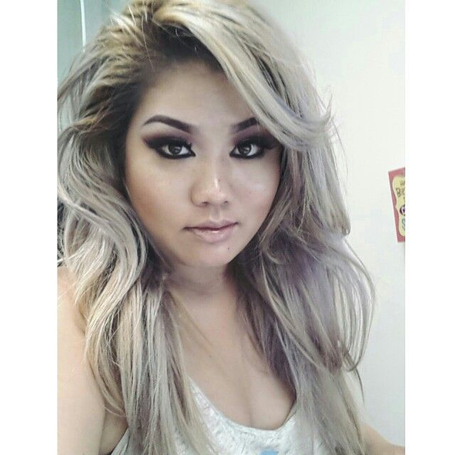 Platinum Silver And Lavender Hair Used Clairol Bw2 Bleach