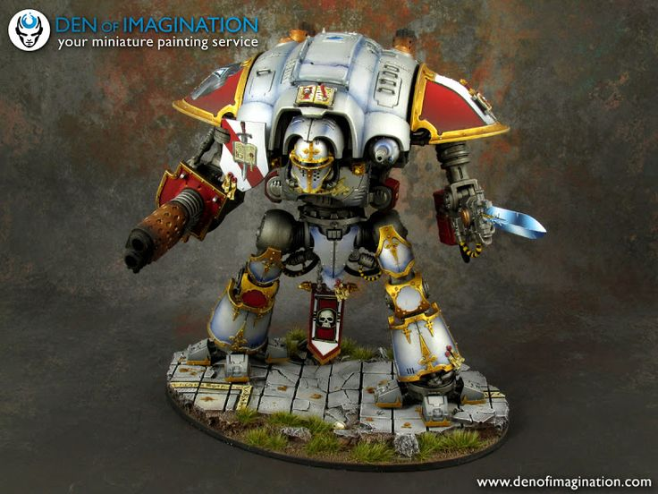 Grey Knight Imperial Knight - Forum - DakkaDakka | Global recession? Must. Buy. More. Models.