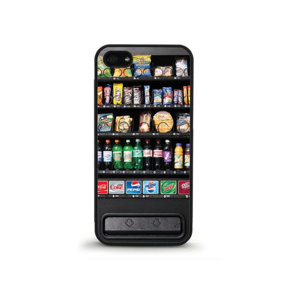 Vending Machine Phone Case  iPhone 4/4s 5/5s 6/6 by FreshAFstudios