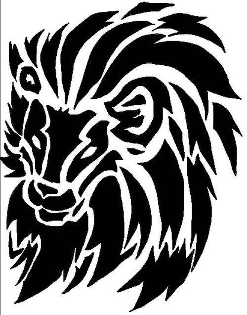 Tribal Lion Tattoo Designs | Sleeve Tattoos | Pinterest ...  Tribal Lion Tat...