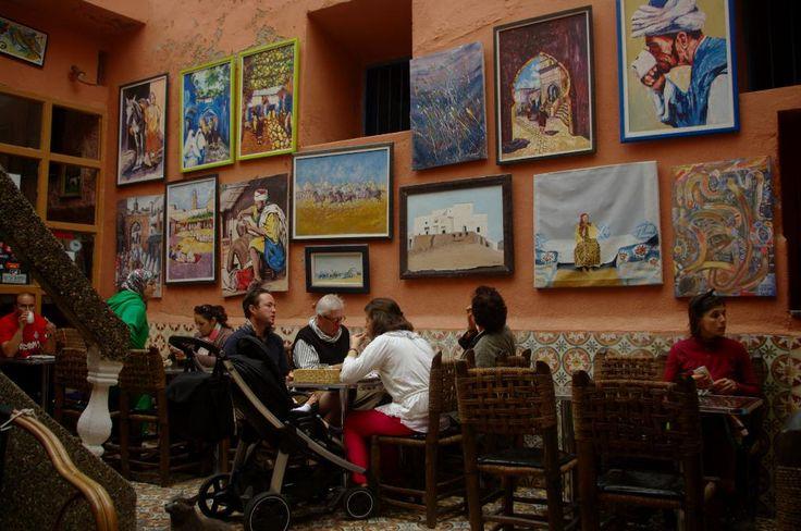 Patisserie Driss - Essaouira, Marocco