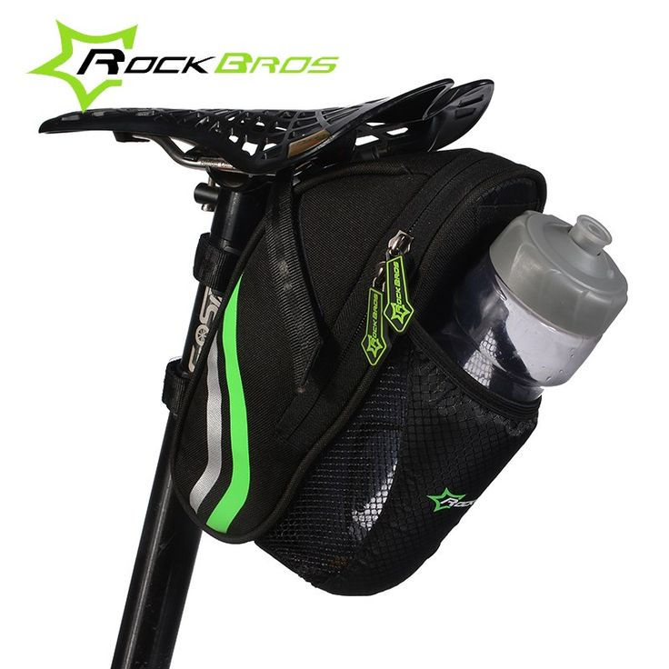 Outdoor Cycling Mountain Bike Back Seat Bicycle Rear Bag Nylon Bike Saddle Bag Bicycle Accessories Tail Pouch Packag