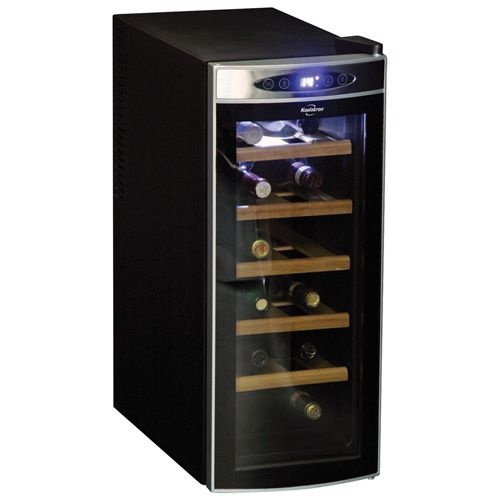 Technically, the Koolatron 12-Bottle Deluxe Wine Cellar is cool all year.