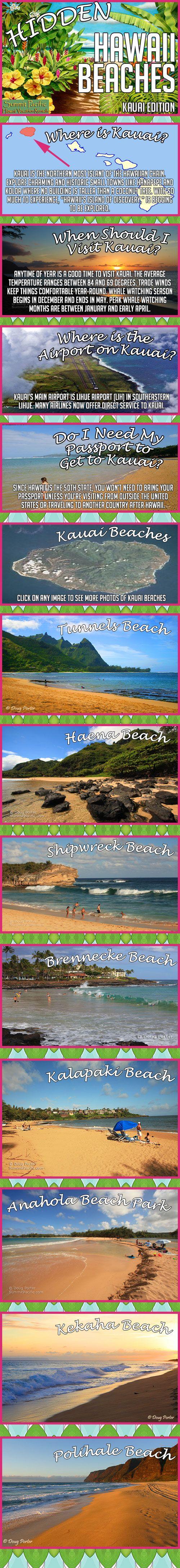 Find some of Hawaii's best hidden beaches!