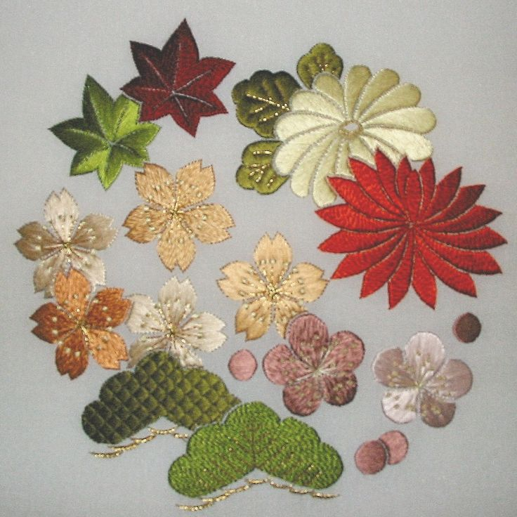 Japanese Embroidery Phase 1 Hanazume - stitchin fingers