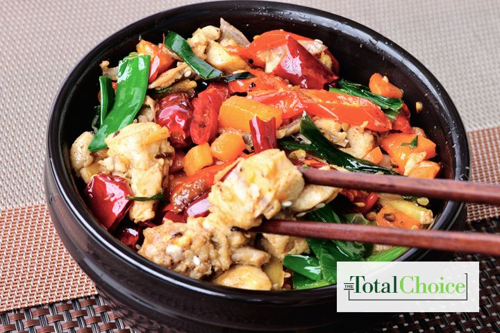 Total Choice Asian Chicken Stir-Fry: Few recipes are faster and easier to prepare than this stir-fry, and even fewer are as delicious. Eat this recipe on the Total...