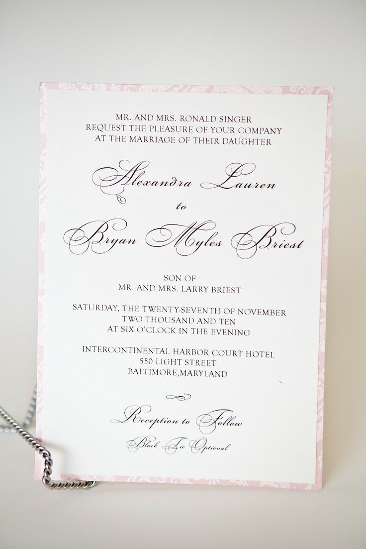 Simple but Elegant Wedding Invitations Kindly RSVP Designs
