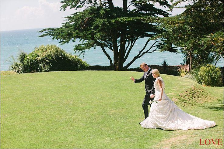Sea view wedding venues, Polhawn Fort Cornwall