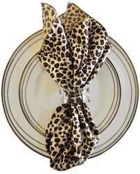 20 x20  Leopard Print Satin Napkins ...  sc 1 st  Pinterest & 183 best animal print party theme images on Pinterest | Animal ...