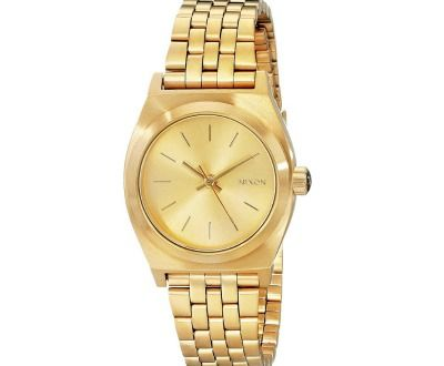 Nixon Women's Small Time Teller Stainless Steel Watch ►► http://www.gemstoneslist.com/womens-watches/nixon-womens-watches.html?i=p