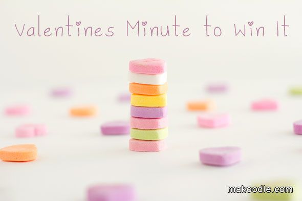 Valentines Minute to Win It Games for Valentines Party - Great for Kids and Adults