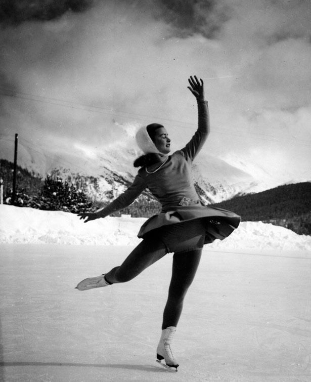 """Barbara Ann Scott - Canadian figure skater. Two-time world champion. Four-time National champion. """"Canada's Sweetheart"""""""