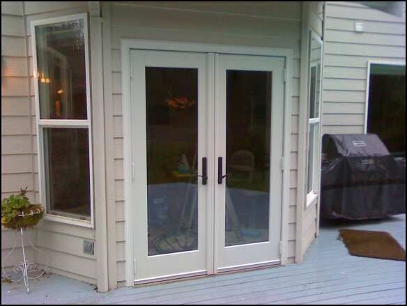 High Quality Andersen White French Doors