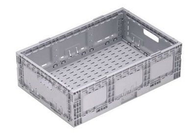 Nally Returnable Folding Crate 33L| Spacepac Industries online Store.