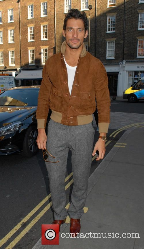 David Gandy - Celebrities at the Chiltern Firehouse - London, United Kingdom - Wednesday 10th June 2015
