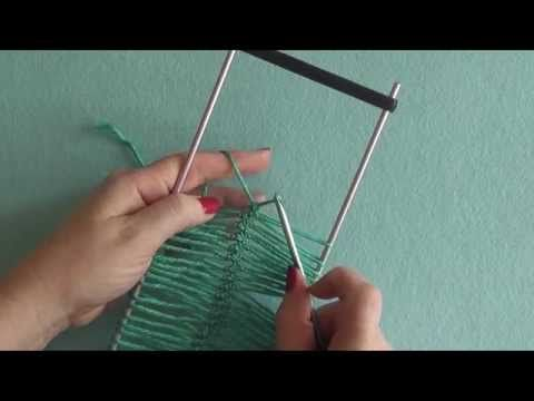 ▶ Learn Hairpin Lace - Making a Hairpin Lace Strip - YouTube