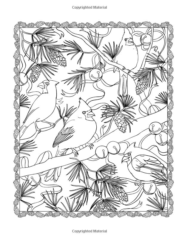 creative haven christmas scapes coloring book jessica mazurkiewicz