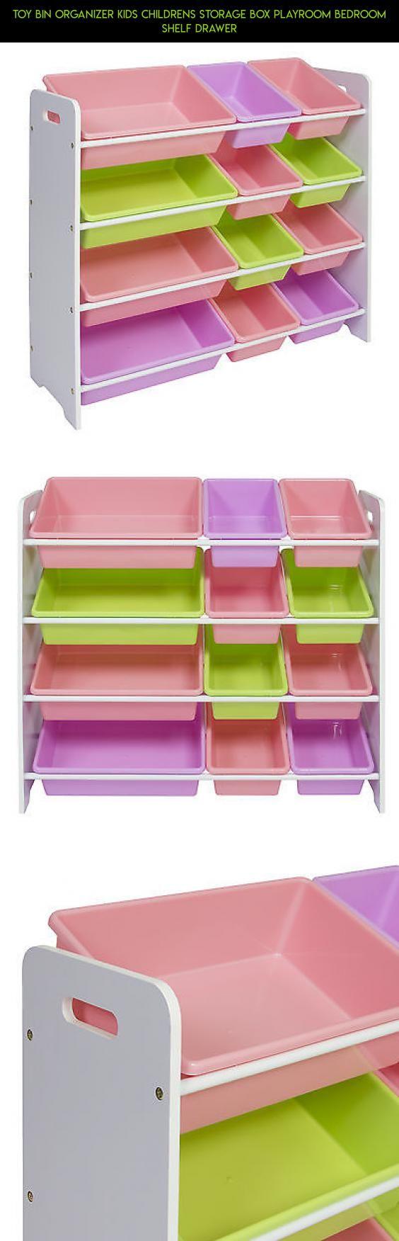 Toy Bin Organizer Kids Childrens Storage Box Playroom Bedroom Shelf Drawer #racing #shopping #technology #storage #kit #kids #products #camera #parts #drone #tech #plans #fpv #gadgets
