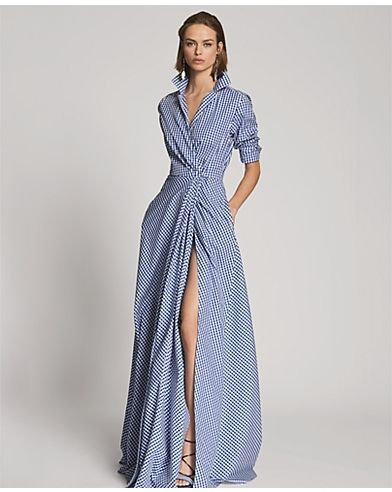 Ralph Lauren Rivera Cotton Gingham Gown - LOVE!!!!!