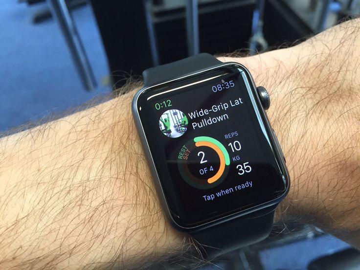 #Gymaholic #AppleWatch #app is the best companion in the #gym for #tracking your #workout. And we #love #Apple Watch #Sport edition!  #fitness #bodybuilding #training