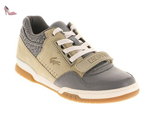 Lacoste Missouri Lnw Lew Dk Gry Tan Off Wht 730lew00145t7 pointure 38 - Chaussures lacoste (*Partner-Link)