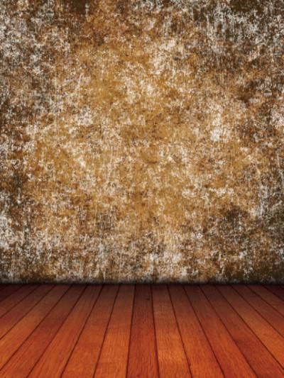 Kate Brown Golden Abstract Backdrop Brown Wood Floor Photo For Studio