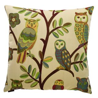 18-inch Owl Design Throw Pillow - 15733693 - Overstock.com Shopping - Great Deals on Throw Pillows
