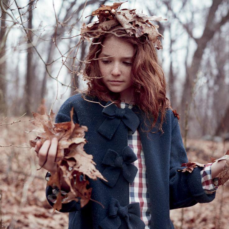 Percale blouse Il Gufo per bambina   Melijoe.com