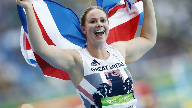 GB's Sophie Hitchon wins bronze in the women's hammer