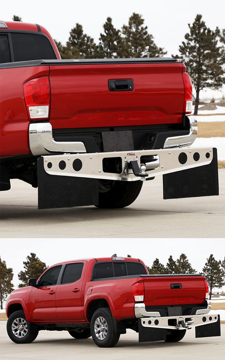 Rockstar hitch mounted mud flaps fit the 2016 toyota tacoma these mud flaps are great for protecting boats campers and trailers from damage on t