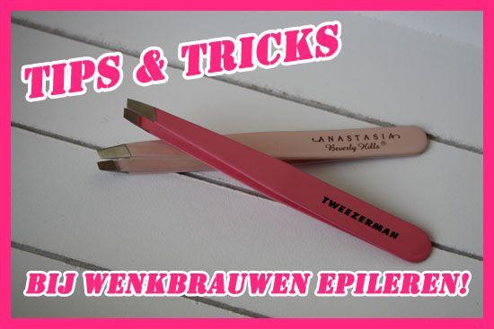 Tips & tricks bij wenkbrauwen epileren