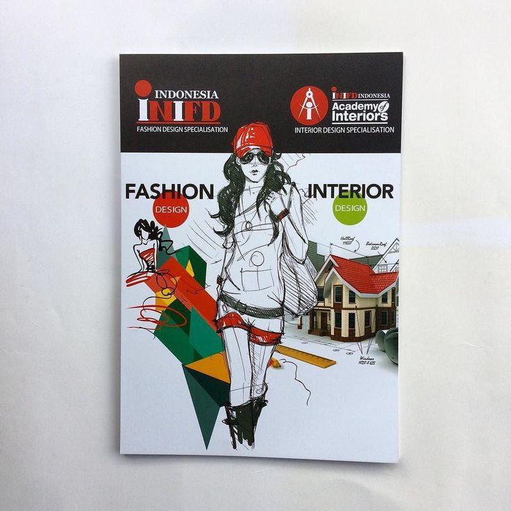 Folder INIFD @inifdindonesia  #design #fashion #creative #school #folder #branding #marketing #inifd #maucetak #jakarta #indonesia #photooftheday #printing