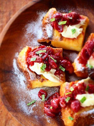 スパイスフルーツソースのフレンチトースト by naomiさん | レシピ ...