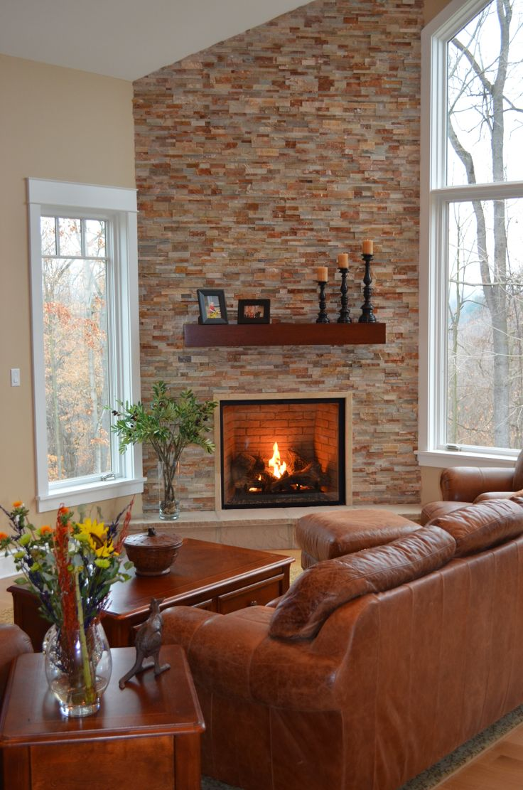 Gas fireplace in a great room home ideas pinterest for Great room fireplace