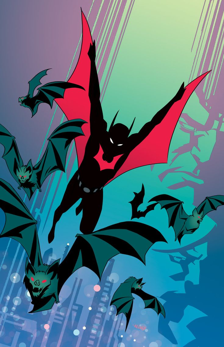 Batman Beyond by Roboworks - Geek Art. Follow back if similar.-